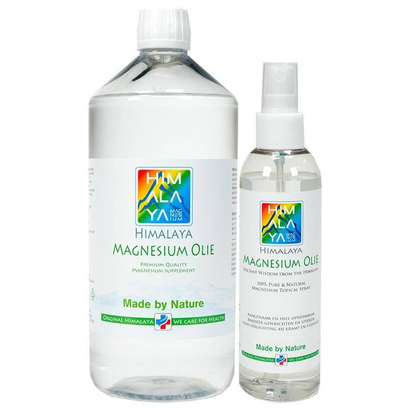 Himalaya magnesium olie combi pakket