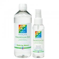 Himalaya magnesium olie combipakket 500 ml en 100 ml