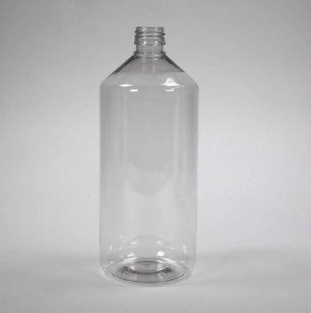 pet fles glas helder 1000ml