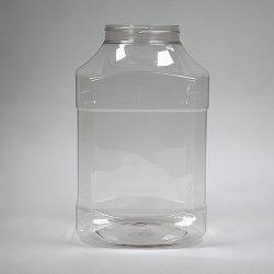 Petpot octagonal glas helder 5000 ml (PRIJS OP AANVRAAG!)